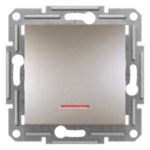 مکانیزم شاسی زنگ چراغ دار اشنایدر آسفورا متالیک