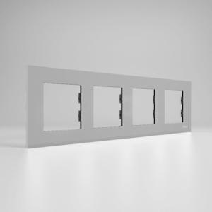 کادر چهار خانه افقی پلاس سیلور