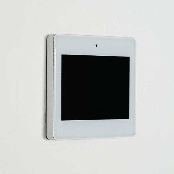 موزیک پلیر دیواری هوشمند | صفحه تمام لمسی | سفید